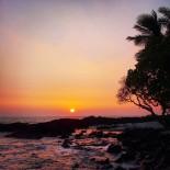 Backyard Beach Sunset